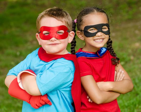 BE YOUR CHILDREN'S SUPER HERO