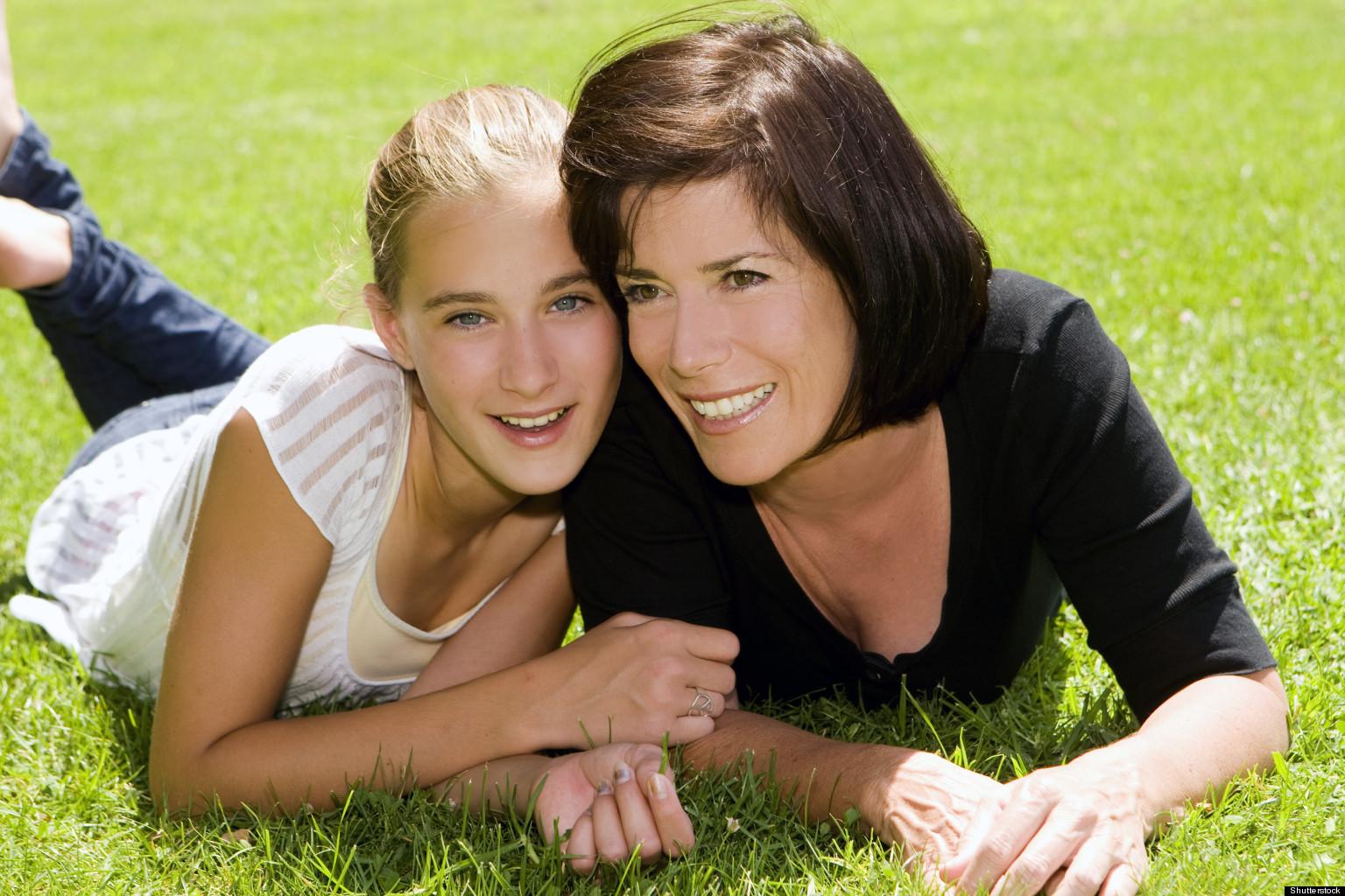 Mom and teen pics